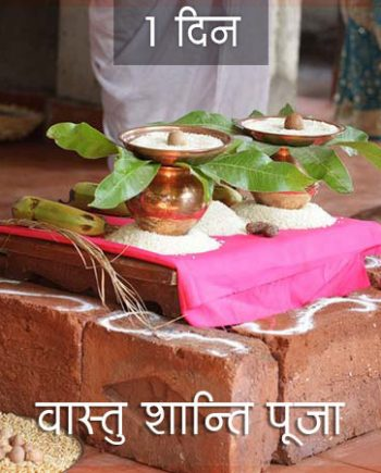 Vastu Shanti Puja for 1 day